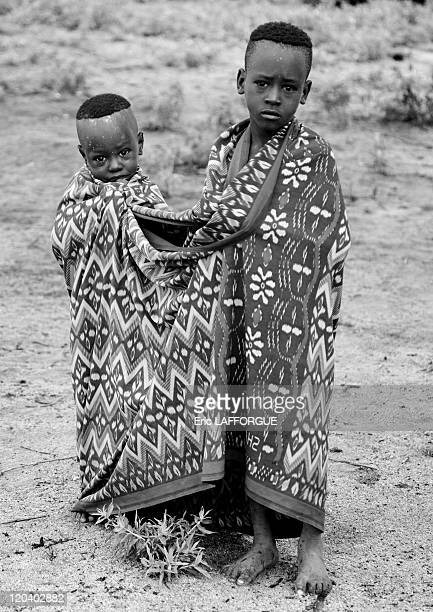 Karo Tribe in Korcho village in Ethiopia on October 30 2008 The Karo with a population of about 1000 1500 live on the east banks of the Omo River in...