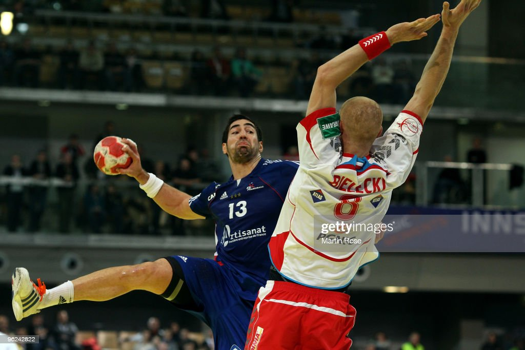 Poland v France - Men's European Handball Championship 2010