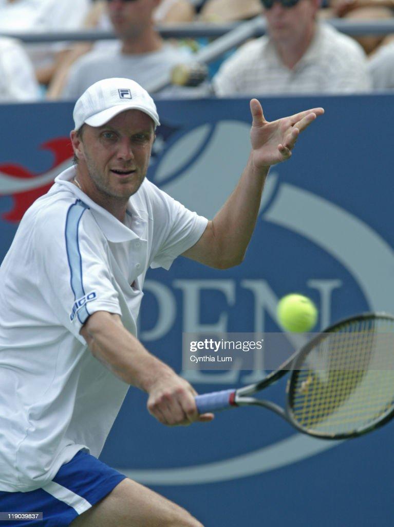 2005 US Open - Men's Singles - First Round - Mark Philippoussis vs Karol Kucera