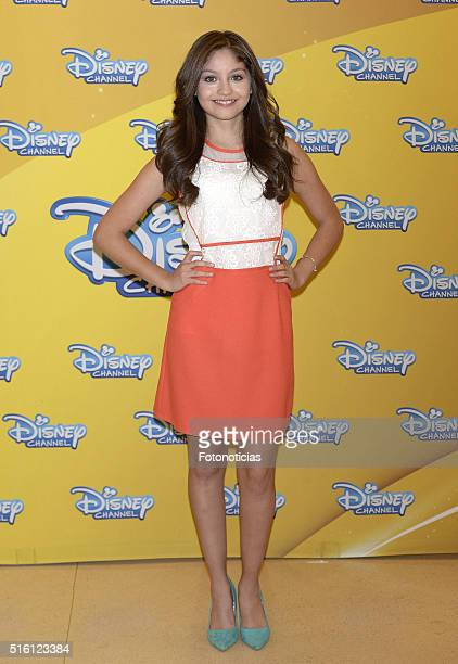Karol Sevilla attends a photocall for 'Soy Luna' on March 17 2016 in Madrid Spain