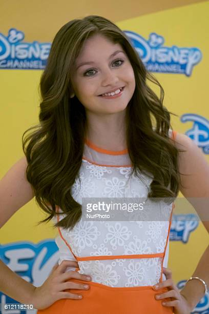 Karol Sevilla attends 'Soy Luna' photocall at Hesperia Hotel on March 17 2016 in Madrid Spain