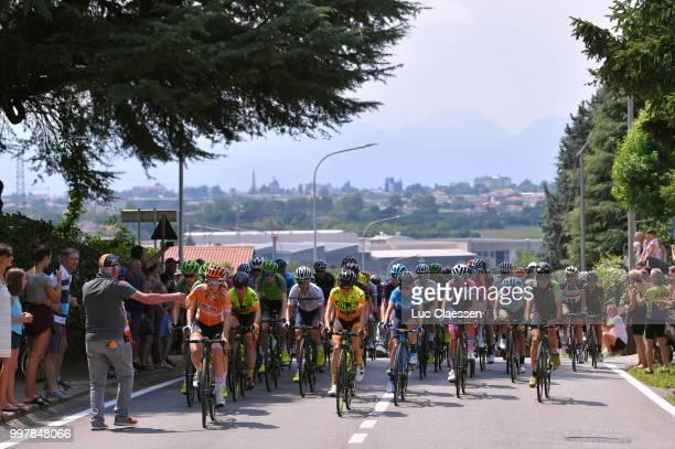 KarolAnn Canuel of Canada and Boels Dolmans Cycling Team / Chloe Hosking of Australia and Team Ale Cipollini / Ashleigh Moolman Pasio of South Africa...