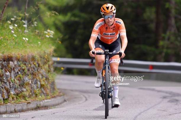 KarolAnn Canuel of Canada and Boels Dolmans Cycling Team / during the 29th Tour of Italy 2018 Women Stage 7 a 15km Individual time trial stage from...