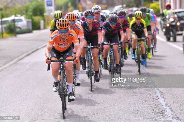 KarolAnn Canuel of Canada and Boels Dolmans Cycling Team / Peloton / during the 2nd LiegeBastogneLiege 2018 a 136km women's race from Bastogne to...