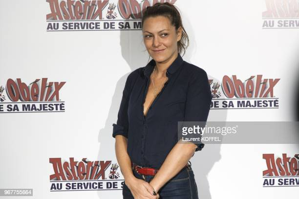 Karole Rocher attends at 'Asterix et Obelix au service de sa majeste' film premiere at 'Le Grand Rex' on September 30 2012 in Paris France
