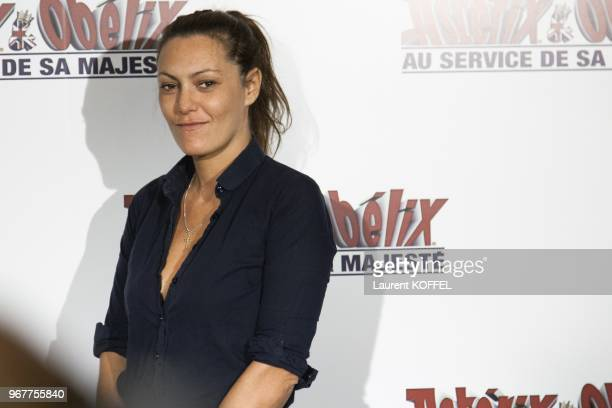 "Karole Rocher attends at ""Asterix et Obelix: au service de sa majeste"" film premiere at ""Le Grand Rex"" on September 30, 2012 in Paris, France."