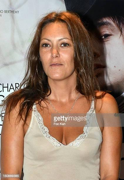 Karole Rocher poses during the 'Confessions D'un Enfant Du Siecle' - Paris Premiere at the UGC Cine Cite des Halles on August 28, 2012 in Paris,...
