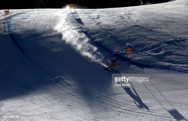 Karolina Chrapek of Poland in action during day 2 of training on Raptor for the FIS Beaver Creek Ladies Downhill World Cup on November 27 2013 in...