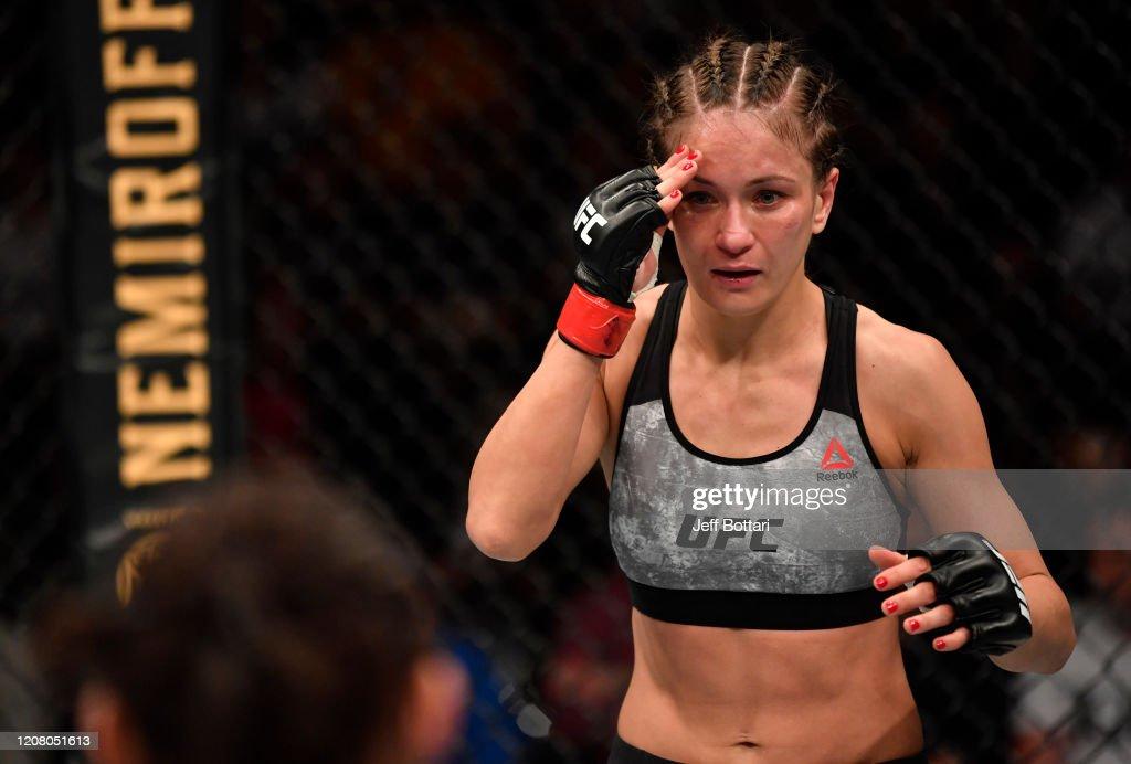 UFC Fight Night: Kowalkiewicz v Xiaonan : Nyhetsfoto