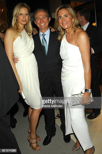 Karolina Kurkova Alberto Palatchi and Susan Palatchi attend Pronovias Commemorates the Opening of the NY Flagship Store with New Yorkers For Children...