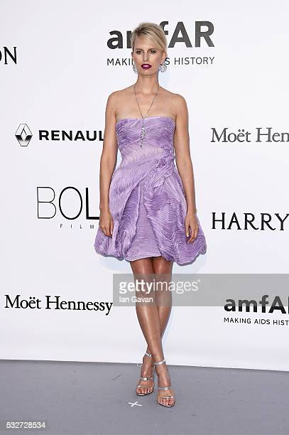 Karolina Kurkova arrives at amfAR's 23rd Cinema Against AIDS Gala at Hotel du CapEdenRoc on May 19 2016 in Cap d'Antibes France