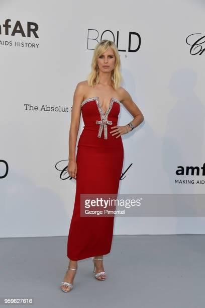 Karolina Kurkova arrives at the amfAR Gala Cannes 2018 at Hotel du CapEdenRoc on May 17 2018 in Cap d'Antibes France