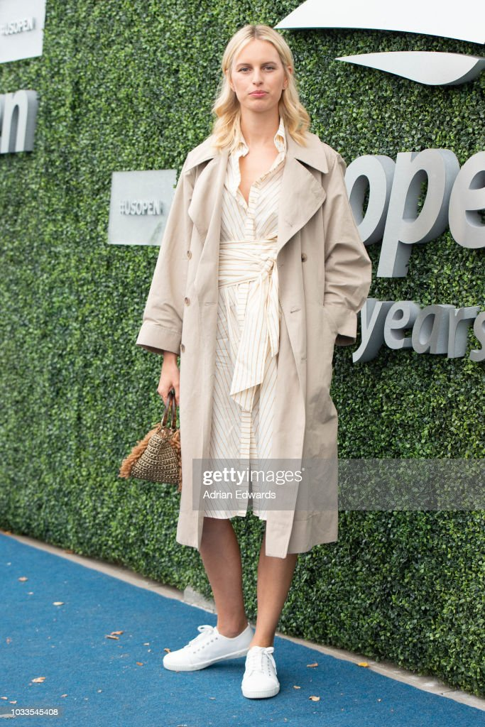 Karolina Kurkova at Day 13 of the US Open held at the USTA Tennis Center on September 8, 2018 in New York City.