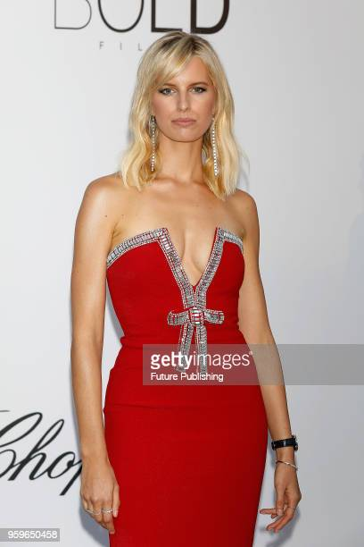 Karolina Kurkova at the amfAR 25th Annual Cinema Against AIDS gala at the Hotel du CapEdenRoc in Cap d'Antibes France during the 71st Cannes Film...