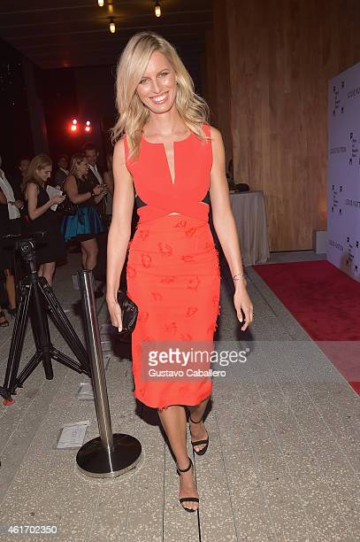 Karolina Kurkova attend Perez Art Musem supporters and Miami's philanthropic leaders gather at PAMM Art of the Party Presented by LOUIS VUITTON in...