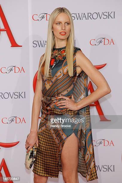 Karolina Kurkova attends 2012 CFDA Fashion Awards at Alice Tully Hall on June 4 2012 in New York City