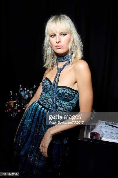 Karolina Kurkova attends amfAR Gala Milano on September 21 2017 in Milan Italy