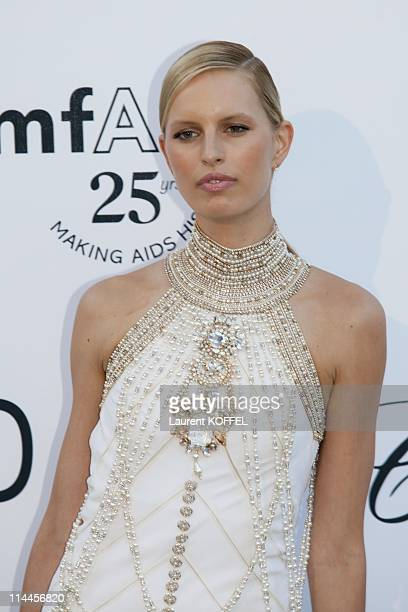 Karolina Kurkova attends amfAR's Cinema Against AIDS Gala during the 64th Annual Cannes Film Festival at Hotel Du Cap on May 19 2011 in Antibes France