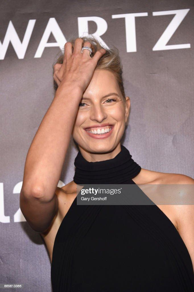 Karolina Kurkova attends Angel Ball 2017 at Cipriani Wall Street on October 23, 2017 in New York City.