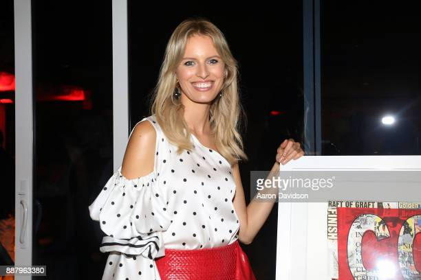 Karolina Kurkova attends Art Basel Miami Beach 2017 Alexa Magazine Party at 1 Hotel Homes South Beach on December 7 2017 in Miami Beach Florida