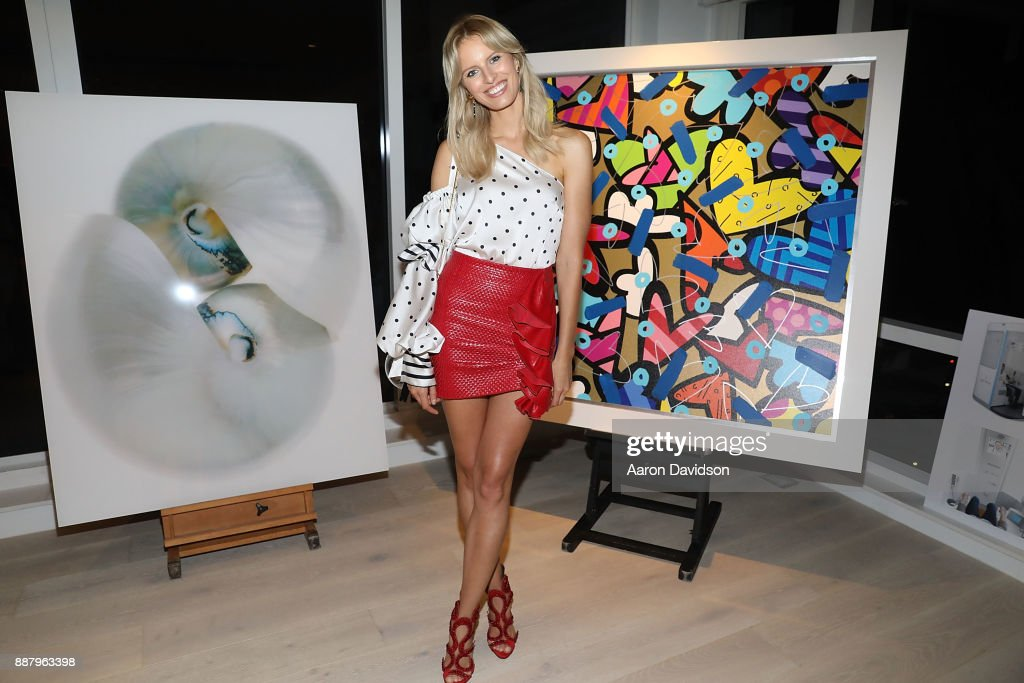 Karolina Kurkova attends Art Basel Miami Beach 2017 - Alexa Magazine Party at 1 Hotel & Homes South Beach on December 7, 2017 in Miami Beach, Florida.
