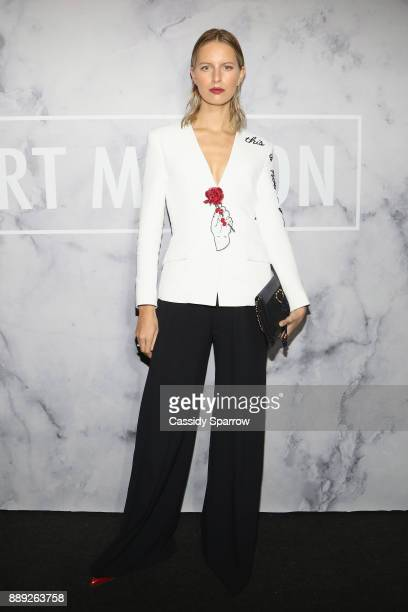 Karolina Kurkova attends ART MAISON celebrates Daniel Arsham Fellowship with National YoungArts Foundation presented by SHOPCOM DNA Atelier Bentley...
