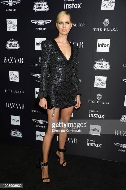 Karolina Kurkova attends as Harper's BAZAAR Celebrates ICONS By Carine Roitfeld at the Plaza Hotel on September 7 2018 in New York City