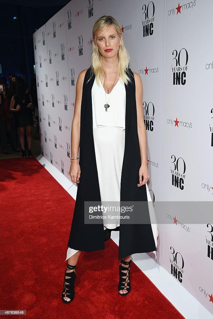 Karolina Kurkova attends Heidi Klum + Gabriel Aubry's celebration of the launch of INC's 30th Anniversary Collection at IAC Building on September 10, 2015 in New York City.