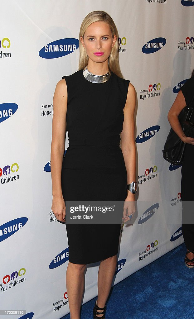 Karolina Kurkova attends Samsung Hope For Children 12th Annual Gala at Cipriani Wall Street on June 11, 2013 in New York City.