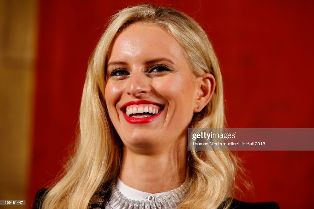 Karolina Kurkova attends the 'AIDS Solidarity Gala 2013' at Hofburg Vienna on May 25, 2013 in Vienna, Austria.