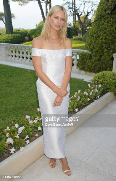 Karolina Kurkova attends the amfAR Cannes Gala 2019 at Hotel du CapEdenRoc on May 23 2019 in Cap d'Antibes France