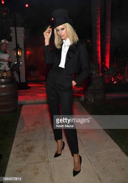 Karolina Kurkova attends the Casamigos Halloween Party on October 26 2018 in Beverly Hills California