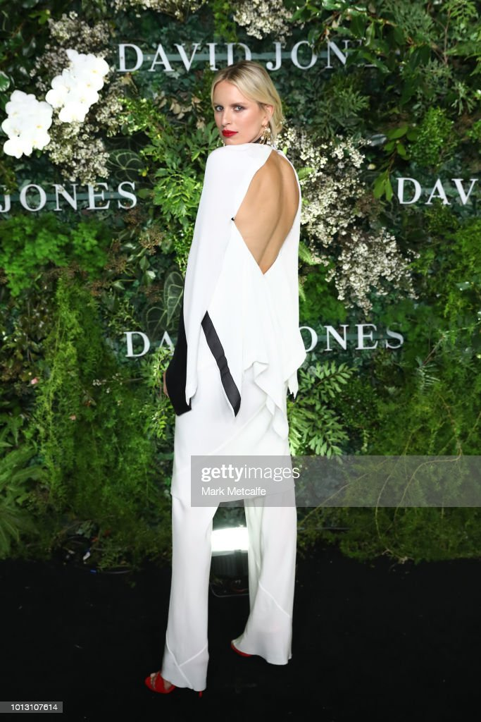 David Jones Spring Summer 18 Collections Launch - Arrivals : News Photo