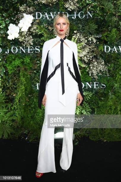 Karolina Kurkova attends the David Jones Spring Summer 18 Collections Launch at Fox Studios on August 8 2018 in Sydney Australia