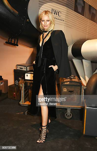 Karolina Kurkova attends the IWC 'Come Fly with us' Gala Dinner during the launch of the Pilot's Watches Novelties from the Swiss luxury watch...