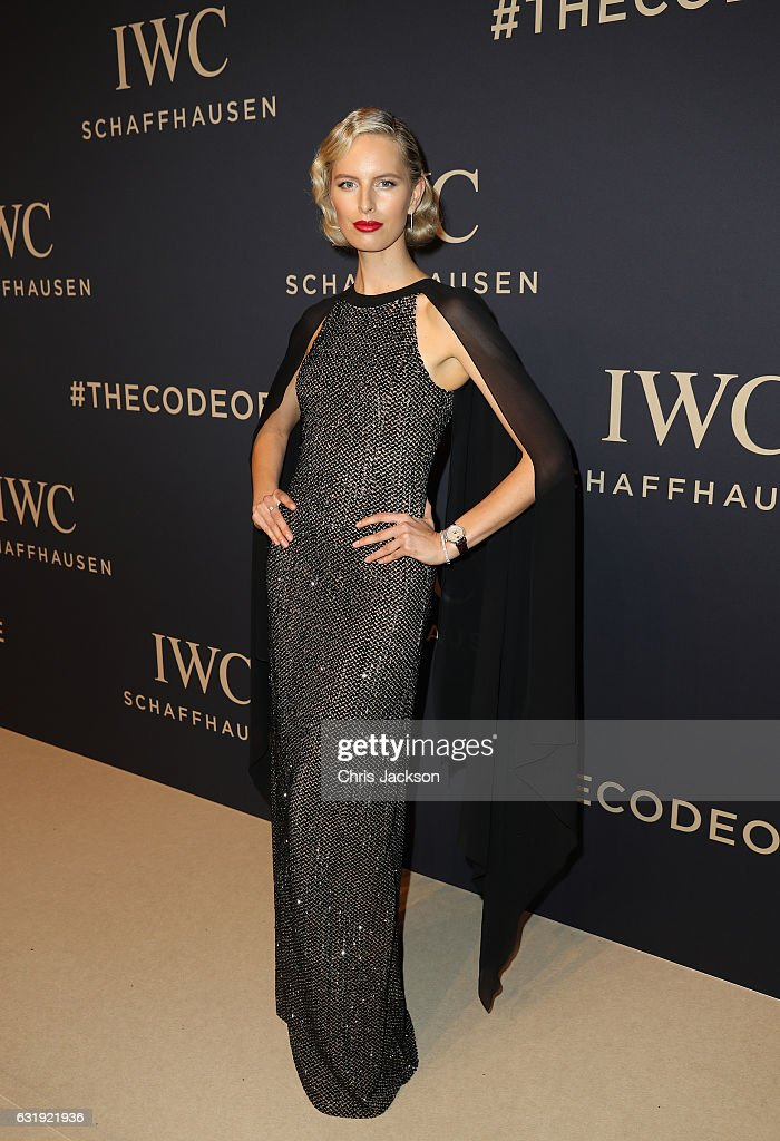Karolina Kurkova attends the IWC Schaffhausen 'Decoding the Beauty of Time' Gala Dinner during the launch of the Da Vinci Novelties from the Swiss luxury watch manufacturer IWC Schaffhausen at the Salon International de la Haute Horlogerie (SIHH) on January 17, 2017 in Geneva, .