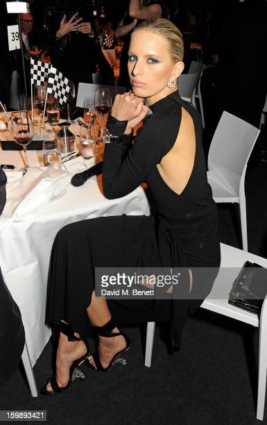 Karolina Kurkova attends the IWC Schaffhausen Race Night event during the Salon International de la Haute Horlogerie 2013 at Palexpo on January 22,...