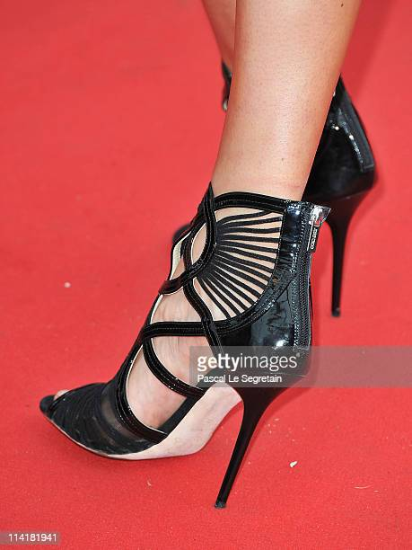 Karolina Kurkova attends the 'Pirates of the Caribbean On Stranger Tides' premiere at the Palais des Festivals during the 64th Cannes Film Festival...