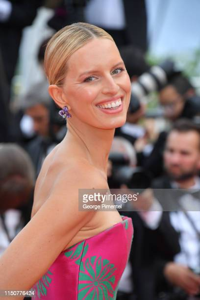 Karolina Kurkova attends the screening of Once Upon A Time In Hollywood during the 72nd annual Cannes Film Festival on May 21 2019 in Cannes France