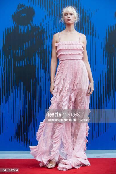 Karolina Kurkova attends the The Franca Sozzani Award during the 74th Venice Film Festival at Sala Giardino on September 1 2017 in Venice Italy