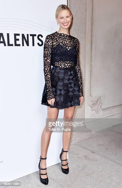 Karolina Kurkova attends 'Who is On Next Vogue Talents' event at Palazzo Morando on September 17 2013 in Milan Italy