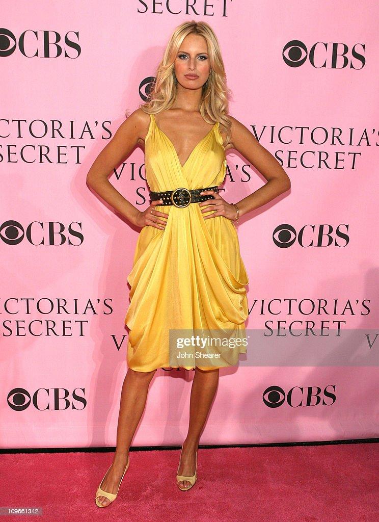 Karolina Kurkova during 11th Victoria's Secret Fashion Show - Pink Carpet at Kodak Theater in Hollywood, California, United States.