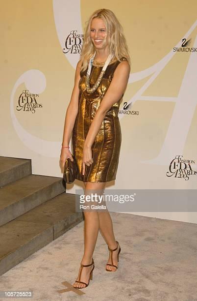 Karolina Kurkova during 2005 CFDA Fashion Awards - Outside Arrivals at New York Public Library in New York City, New York, United States.