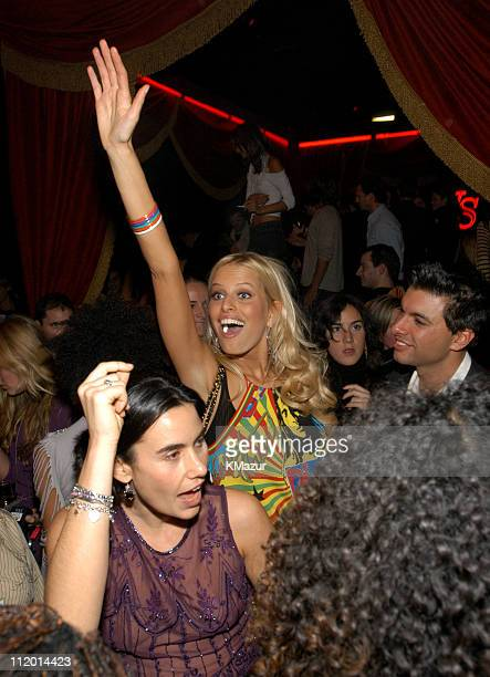 Karolina Kurkova during 9th Annual Victoria's Secret Fashion Show After Party at The New York State Armory in New York City New York United States