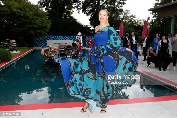 Karolina Kurkova during the CYBEX by Karolina Kurkova 4th of July Fashion BBQ at Villa Westend on July 4 2019 in Berlin Germany