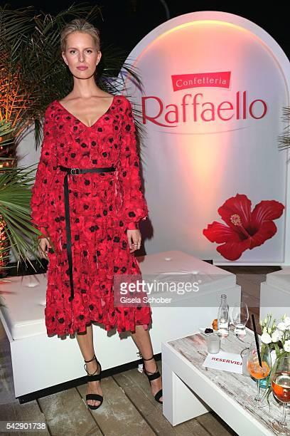 Karolina Kurkova during the Raffaello Summer Day 2016 to celebrate the 26th anniversary of Raffaello on June 24 2016 in Berlin Germany