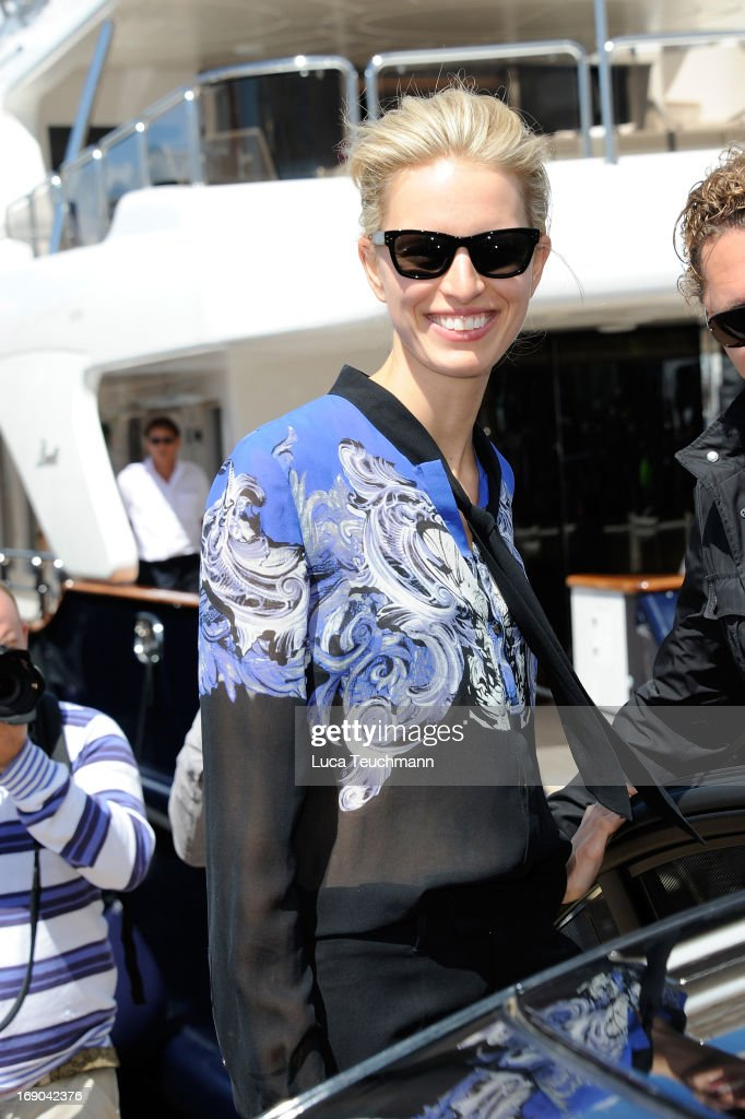 Celebrity Sightings Day 5 - The 66th Annual Cannes Film Festival