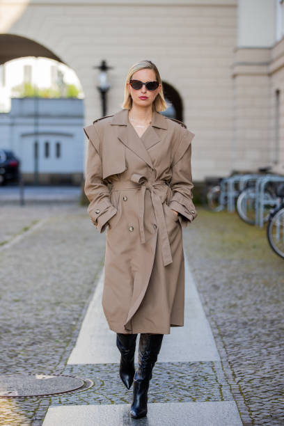 DEU: Karolina Kurkova Street Style Shoot In Berlin