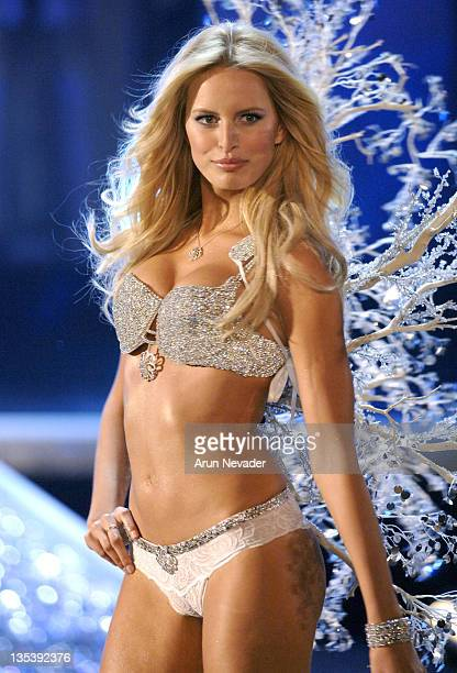 Karolina Kurkova wearing 'The Victoria's Secret Hearts on Fire Diamond Fantasy Bra'
