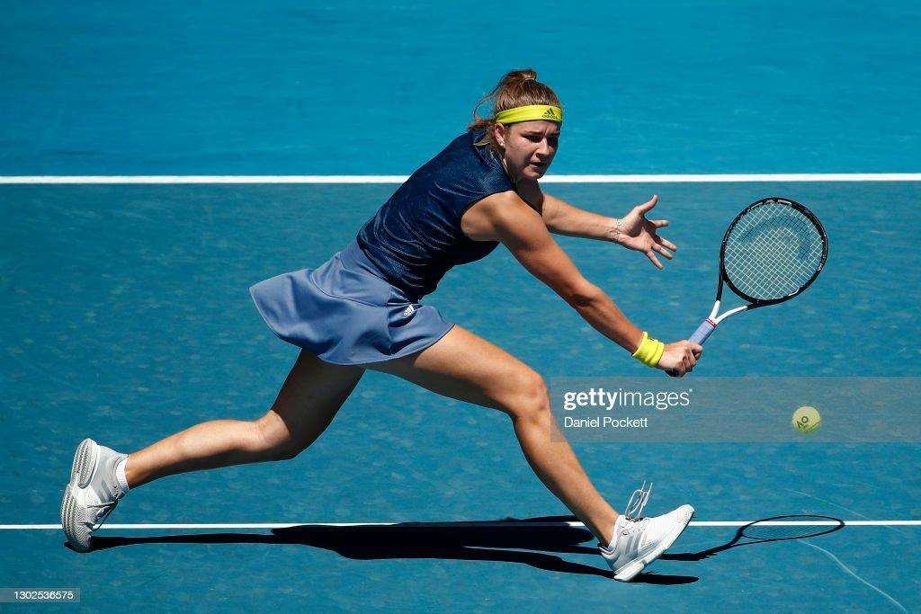 2021 Australian Open: Day 10 : News Photo